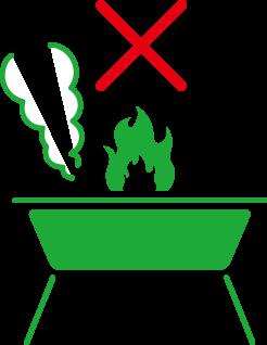 火気使用禁止